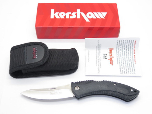 KERSHAW 1090 NORTHSIDE HUNTER FOLDING HUNTING LOCKBACK KNIFE & SHEATH NEW