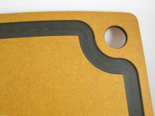 EPICUREAN GOURMET KITCHEN SERIES CUTTING BOARD 11 x 15 DURABLE WOOD SLATE ECO