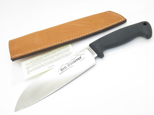 KNIFEWARE WORKR AUS-8 SEKI JAPAN HUNTING KITCHEN SANTOKU CAMP KNIFE BLACKJACK