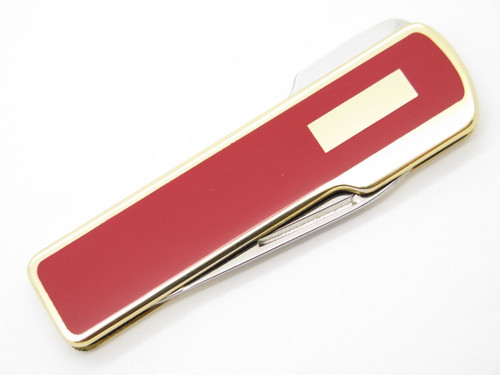 KAI CUT SEKI JAPAN SMALL RED GENTLEMAN FOLDING LOCKBACK POCKET KNIFE KERSHAW