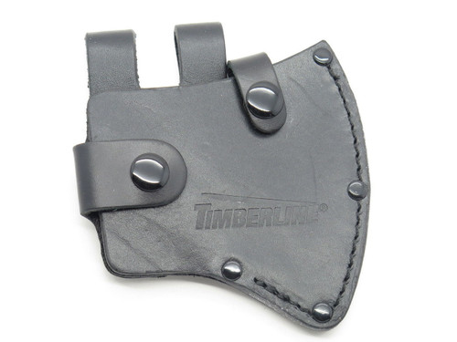 TIMBERLINE 6013 AXE HATCHET CAMPING BLACK LEATHER FIXED BLADE KNIFE SHEATH