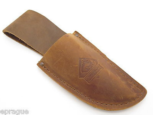 PUMA LEATHER FIXED BLADE HUNTING KNIFE SHEATH for SGB TROPHY CARE SET