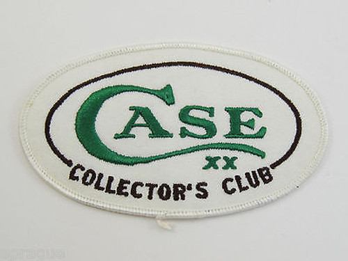 VTG CASE KNIVES TESTED XX CCC COLLECTORS CLUB HAT SHIRT PATCH