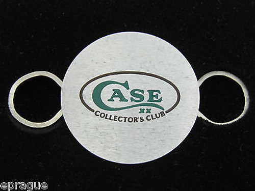 VTG W.R. CASE XX & SONS KNIVES ZIPPO CCC CASE COLLECTORS CLUB KEY RING HOLDER