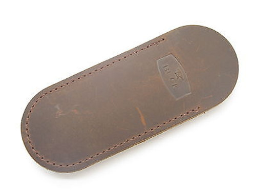 BUCK 500 301 532 BUCKLOCK BROWN DISTRESSED LEATHER FOLDING KNIFE SHEATH