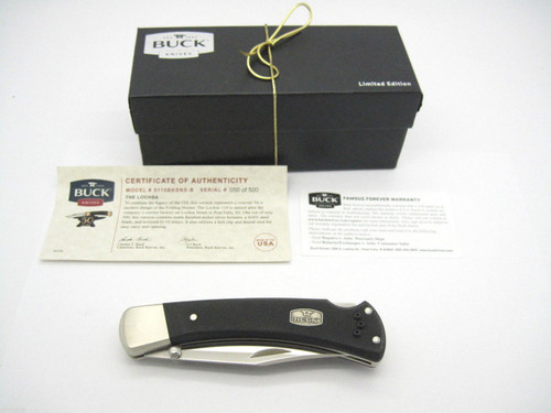 Buck 110 S30V Lochsa 50th Anniversary Folding Hunter Lockback Knife w/ Pocket Clip