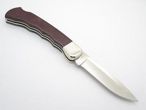 2010 BUCK BCCI 0110RDSCC 110 S30V PAPERSTONE FOLDING HUNTER KNIFE CUSTOM LIMITED