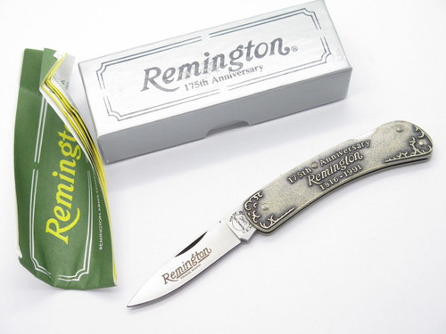 REMINGTON UMC USA R5 175th ANNIVERSARY 700 FOLDING POCKET KNIFE & BOX