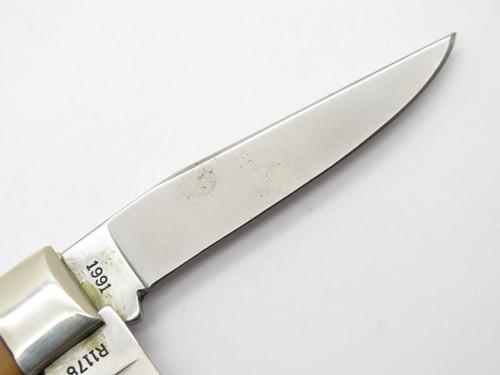 1991 REMINGTON UMC R1178 MINI TRAPPER BULLET FOLDING POCKET KNIFE & BOX
