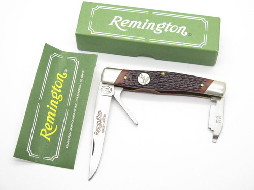 REMINGTON UMC USA R7 TURKEY HUNTER FOLDING POCKET KNIFE SHOTGUN CHOKE TOOL
