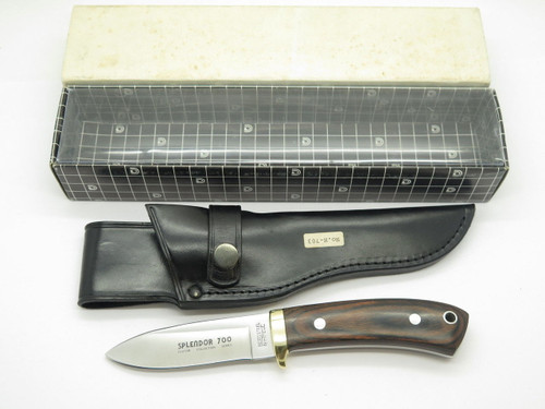 VTG HI-CUT H-703 SPLENDOR 700 SEKI JAPAN CUSTOM FIXED BLADE HUNTING KNIFE NOS