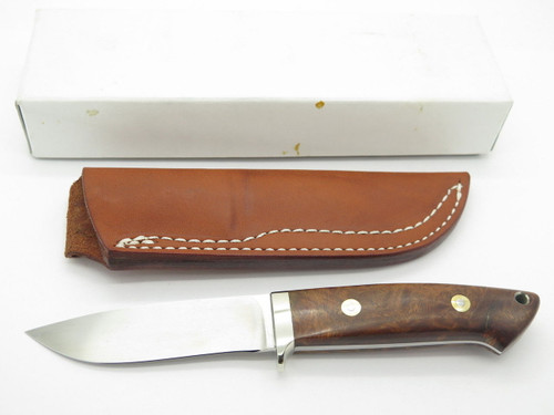 SEIZO IMAI SEKI CUSTOM LOVELESS LG HUNTER ATS-34 & WOOD FIXED BLADE KNIFE