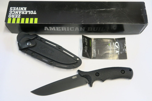 DISCONTINUED ZT ZERO TOLERANCE 0170 MILITARY COMBAT FIXED BLADE TACTICAL KNIFE