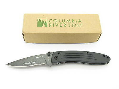 VTG COLUMBIA RIVER CRKT 7012B 7012 APACHE II FOLDING KNIFE ATS-34 LIMITED ED.