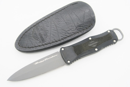 BENCHMADE HARLEY DAVIDSON 13400BK NIGHTSHIFT FIXED BLADE DAGGER KNIFE & SHEATH
