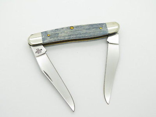 2016 CASE XX USA MUSKRAT FOLDING POCKET KNIFE GRAY JIGGED BONE
