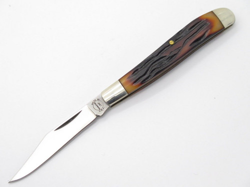 VINTAGE REMINGTON UMC USA SMALL FOLDING JACK POCKET KNIFE DELRIN HANDLE