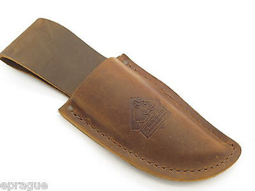 PUMA LEATHER FIXED BLADE HUNTING KNIFE SHEATH for the SGB TROPHY CARE SET