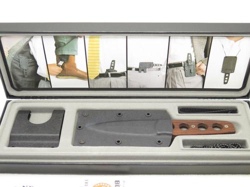 VINTAGE BOKER 557 BUD NEALY MCS SOLINGEN GERMANY FIXED BLADE KNIFE 440C COCOBOLO