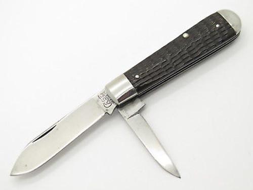 VTG 1920-1940 CASE TESTED XX GREEN BONE FOLDING POCKET JACK KNIFE