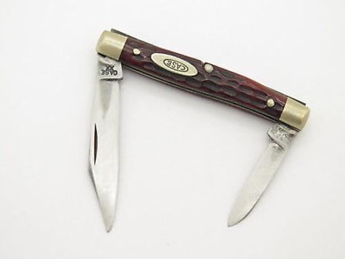 VINTAGE 1940-1964 CASE XX 6233 SMALL FOLDING POCKET KNIFE RED BONE