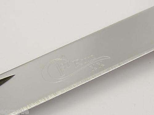 2005 CASE XX C PLATTS SONS 6254 WALNUT BONE TRAPPER FOLDING POCKET KNIFE