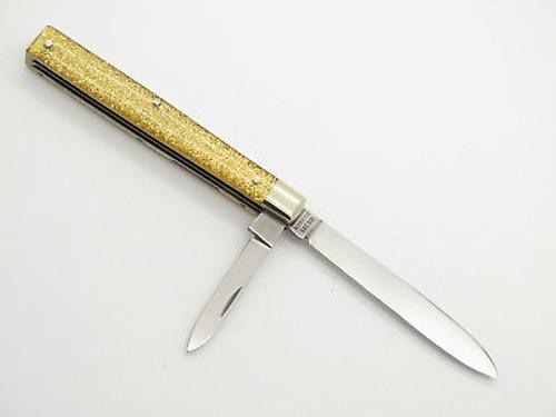 1990s CASE XX GS 285 GOLD GLITTER SOLINGEN DOCTOR FOLDING POCKET KNIFE