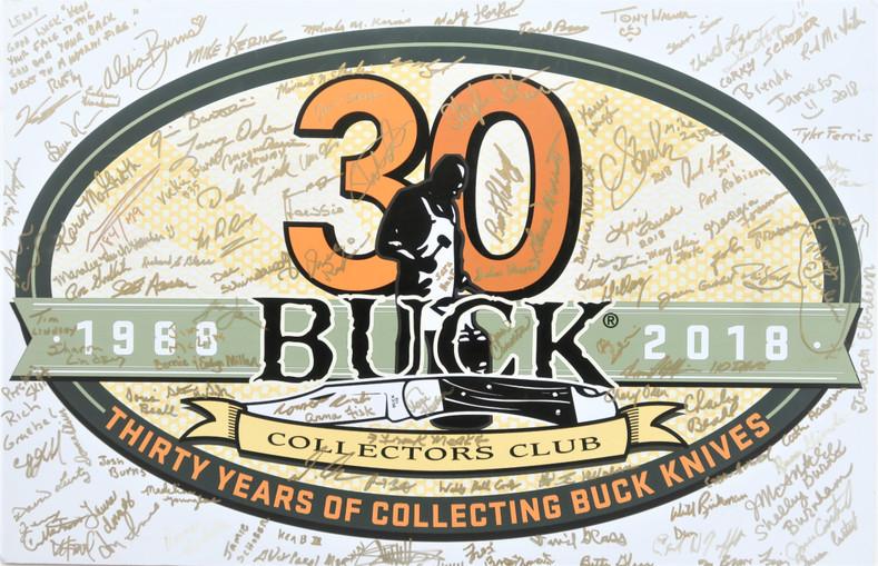 2018 Buck Collectors Club 30th Anniversary BCCI Knife Event in Post Falls, Idaho