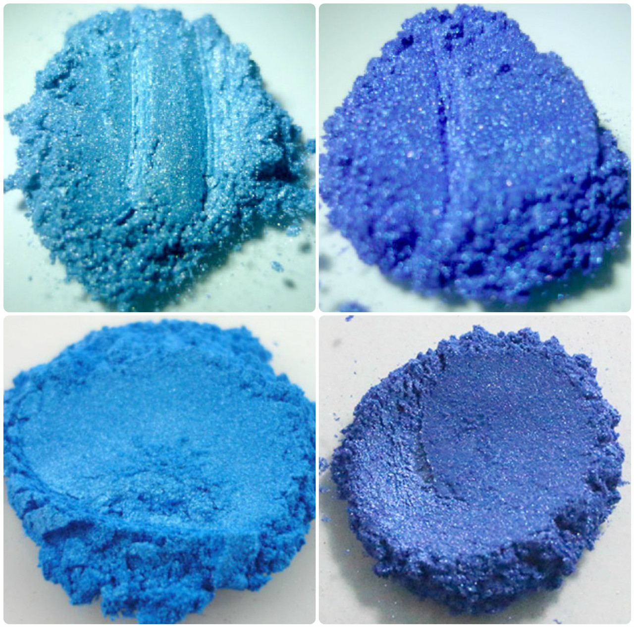 Deep Blue and Bright Blue Bath Bomb and Soap Colors all in one ...