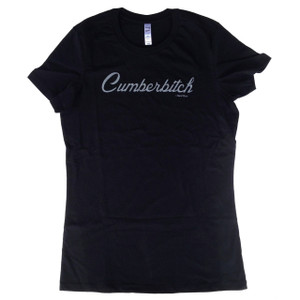 Benedict Cumberbatch Sherlock Juniors Fitted T-Shirt: Cumberbitch