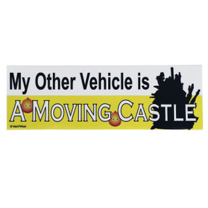 Howl's Bumper Sticker: My Other Vehicle is a Moving Castle