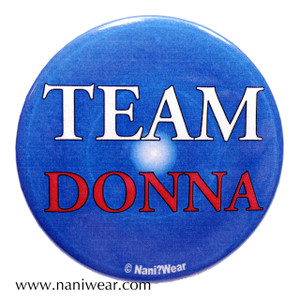 Companion Button: Team Donna