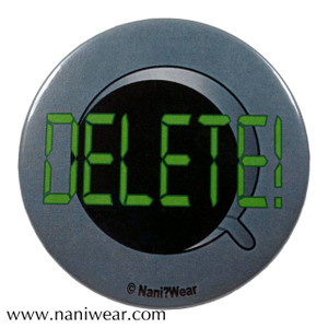 Cybermen Inspired Button: Delete