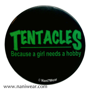 Hentai Button: Tentacles Because a Girl Needs a Hobby