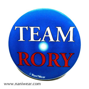 Rory Williams Inspired Button: Team Rory
