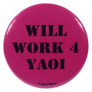 Yaoi Anime Button Will Work 4 Yaoi