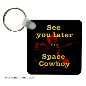 Cowboy Bebop Square Keychain: See you later, Space Cowboy