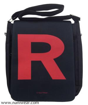 Pocket Monster Inspired Medium Messenger Bag: Team R
