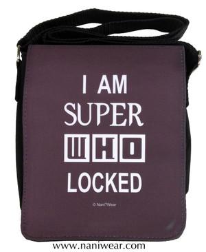 SuperWhoLock Small Messenger Bag