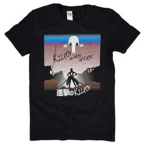 Attack on Titan Parody T-Shirt Attack on Kilroy