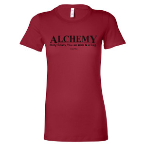 Fullmetal Alchemist Junior's Fitted T-Shirt Alchemy Only Costs an Arm & a Leg