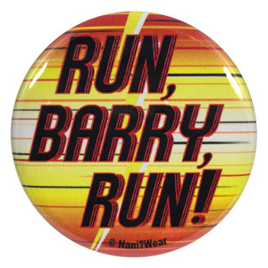 The Flash Button Run Barry Run