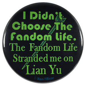 Arrow 2.25 Inch Geek Button Fandom Life