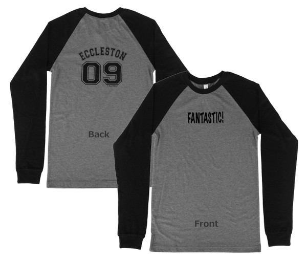 Doctor Who Inspired 9th Doctor Double-sided Baseball Jersey