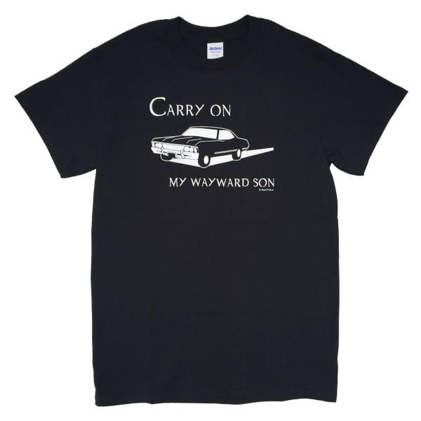 Supernatural Inspired T-Shirt: Carry on My Wayward Son