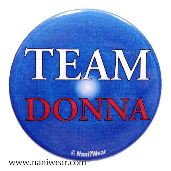 Companion Button: Team Donna
