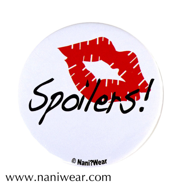 River Song Inspired Button: Spoilers