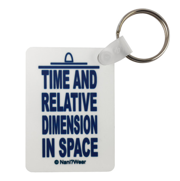 Doctor Who Inspired Keychain: T.A.R.D.I.S.