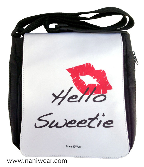 Doctor Who Inspired Medium Messenger Bag: Hello Sweetie