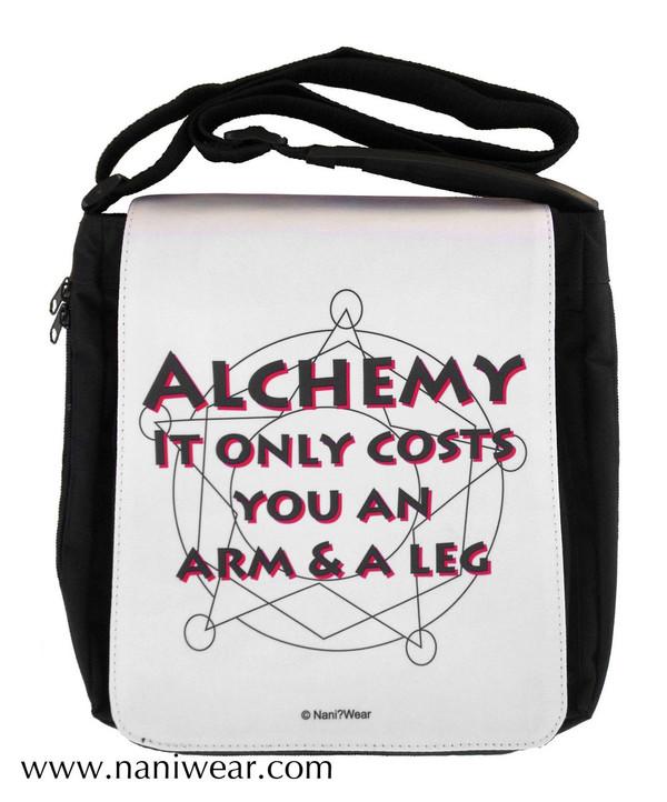 Fullmetal Alchemist Inspired Medium Messenger Bag: Alchemy